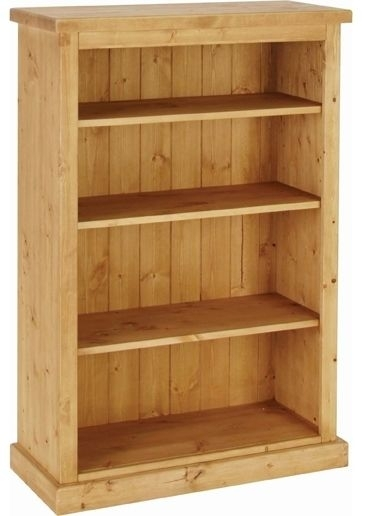 Devonshire Chunky Pine Bookcase - 4ft Tall