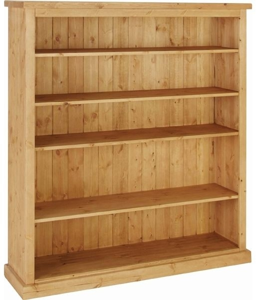 Devonshire Chunky Pine Bookcase - 5ft wide