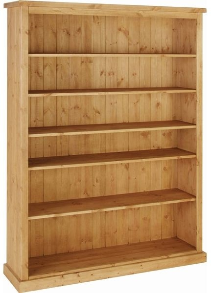 Devonshire Chunky Pine Bookcase - 6ft