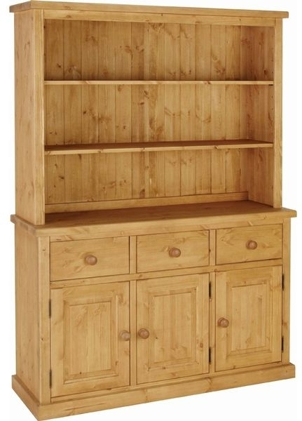 Devonshire Chunky Pine Dresser - 4ft 6in Double