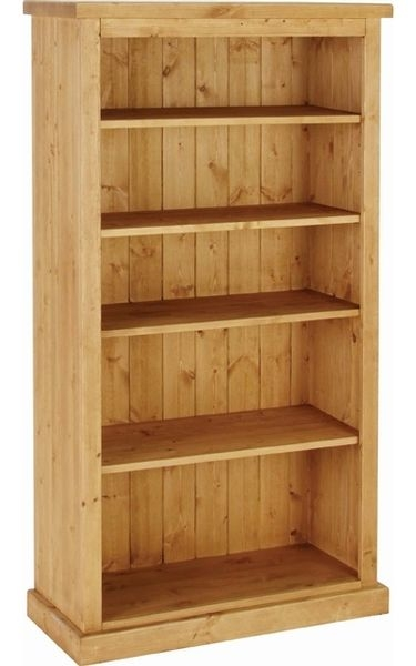 Devonshire Chunky Pine Medium Bookcase