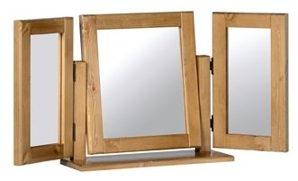 Devonshire Chunky Pine Mirror - Triple