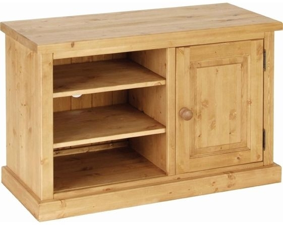 Devonshire Chunky Pine TV Unit - 1 Door