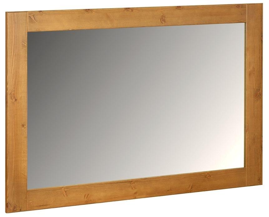 Devonshire Chunky Pine Wall Mirror - 1300mm x 900mm