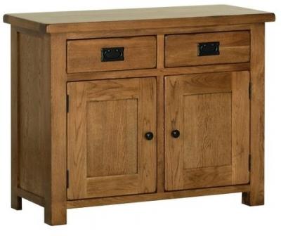 Clearance Devonshire Rustic Oak Dresser Base - Small