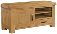 Devonshire Clovelly Oak 1 Door 1 Drawer TV Unit