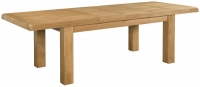 Devonshire Clovelly Oak Rectangular Extending Dining Table - 180cm-260cm