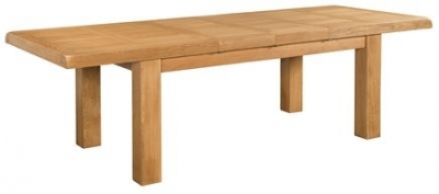Devonshire Clovelly Oak Dining Table - 6 Seater