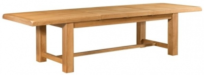 Devonshire Clovelly Oak Dining Table - 8 Seater