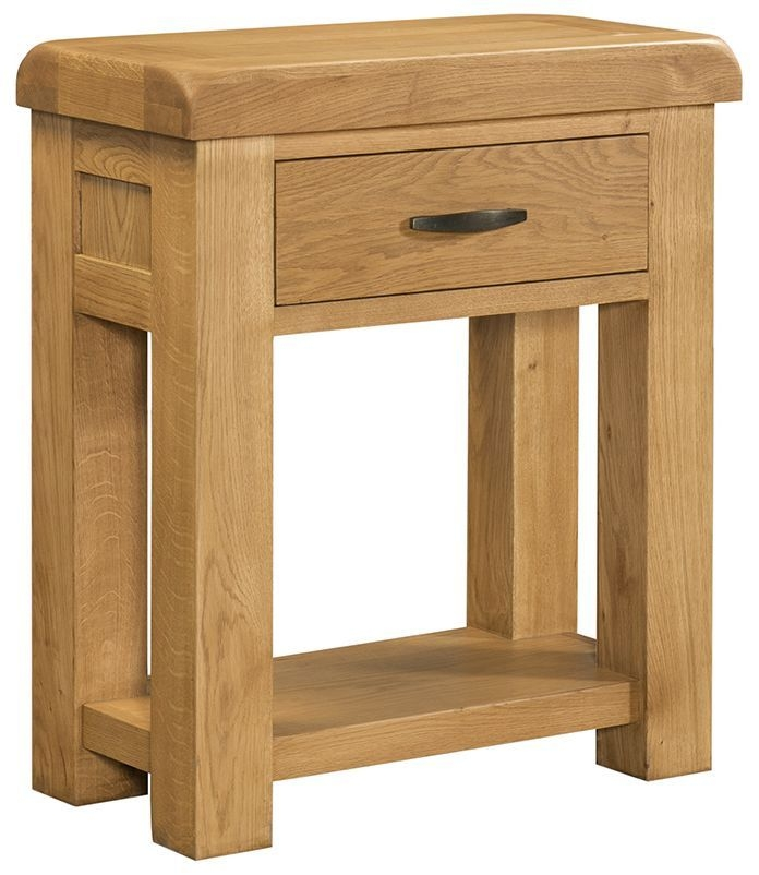 Devonshire Clovelly Oak Console Table
