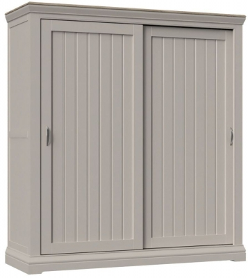 Cobble Mist Painted Sliding Wardrobe