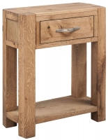 Devonshire Como Oak Console Table