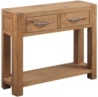 Devonshire Como Oak Large Console Table