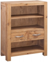 Devonshire Como Oak Low Bookcase
