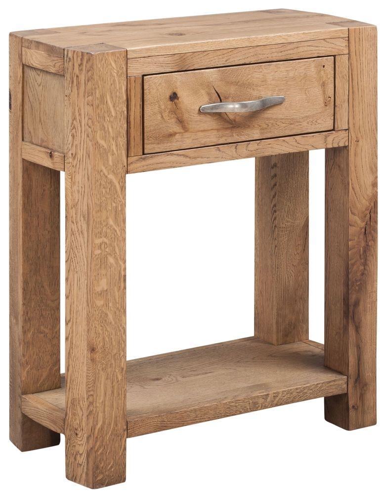 Devonshire Como Oak Console Table