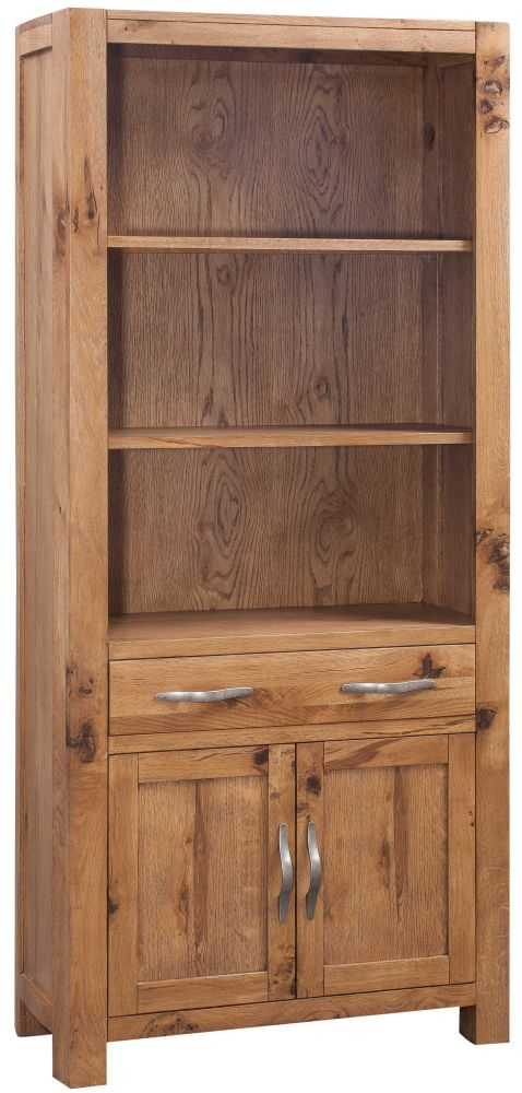 Devonshire Como Oak Tall Bookcase