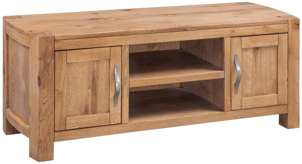 Devonshire Como Oak Large TV Unit