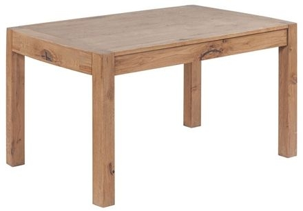 Devonshire Como Oak Dining Table - Large Fixed Top