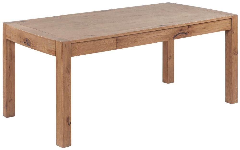 Devonshire Como Oak Large Extending Dining Table