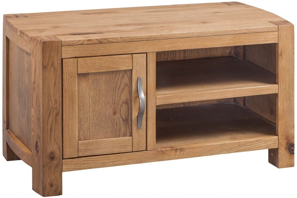 Devonshire Como Oak 1 Door TV Unit