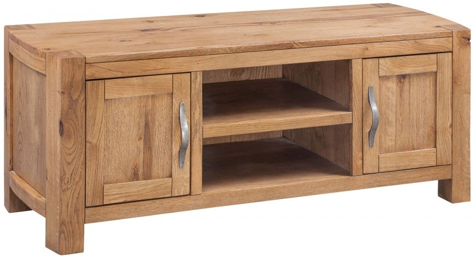 Devonshire Como Oak TV Unit - 2 Door