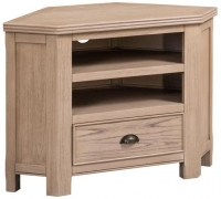 Devonshire Coniston Light Grey Corner TV Unit