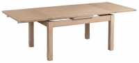 Devonshire Coniston Light Grey Large End Extending Dining Table