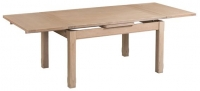 Devonshire Coniston Light Grey Standard End Extending Dining Table