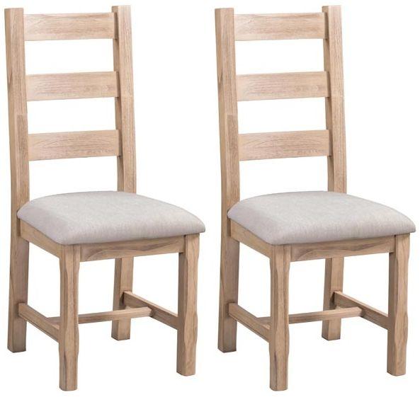 Devonshire Coniston Light Grey Dining Chair (Pair)
