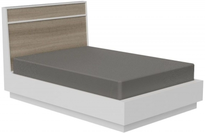 Corton Light Grey Painted 4ft 6in Double Bed