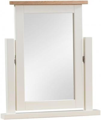 Dorset Ivory Painted Vanity Mirror
