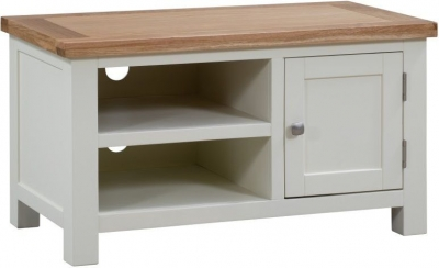 Dorset Ivory Painted 90cm TV Unit