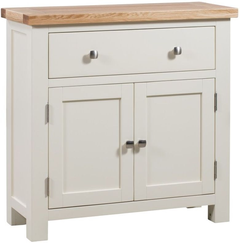 Dorset Ivory Painted Compact Sideboard