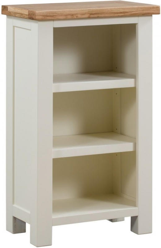Dorset Ivory Painted Bookcase