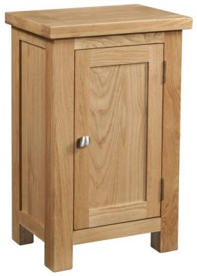 Dorset Oak Small 1 Door Hall Cabinet