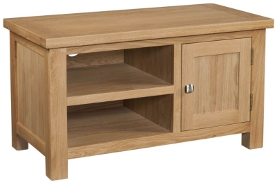 Dorset Oak 90cm TV Unit