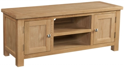 Dorset Oak 120cm Large TV Unit