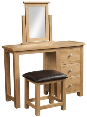 Dorset Oak Dressing Table Set