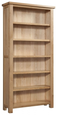 Dorset Oak High Bookcase