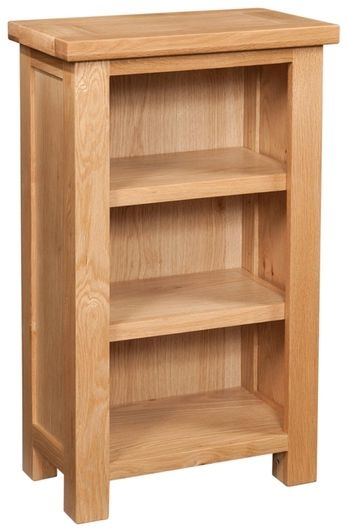 Devonshire Dorset Oak Bookcase - 2 Shelves