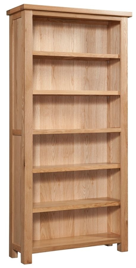 Devonshire Dorset Oak Bookcase - 6 Shelves