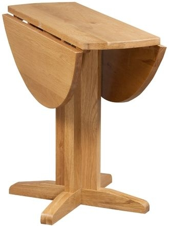 Devonshire Dorset Oak Dining Table - Drop Leaf