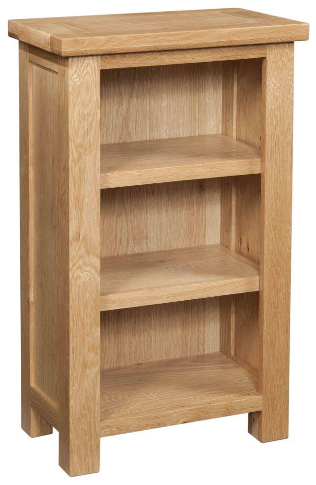 Devonshire Dorset Oak Small Bookcase