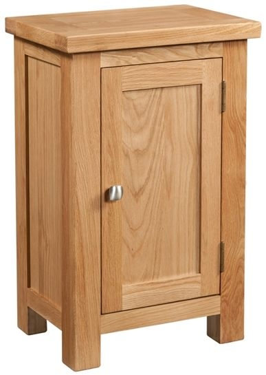 Devonshire Dorset Oak Hall Cabinet - 1 Door