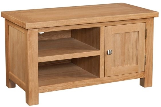 Devonshire Dorset Oak TV Unit - 1 Door