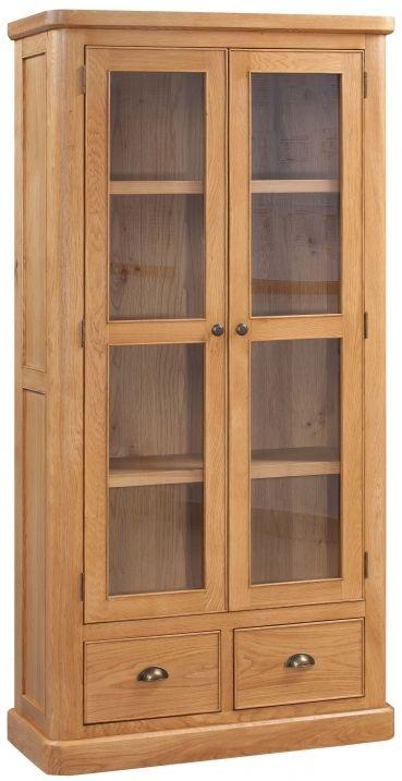 Devonshire Evesham Oak Display Cabinet