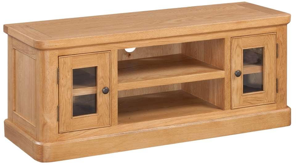 Devonshire Evesham Oak TV Unit - Large