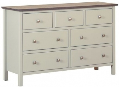 Devonshire Kenwith Painted Chest of Drawer - 3 Over 4 Drawer
