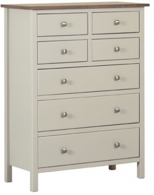 Devonshire Kenwith Painted Chest of Drawer - 4 Over 3 Drawer