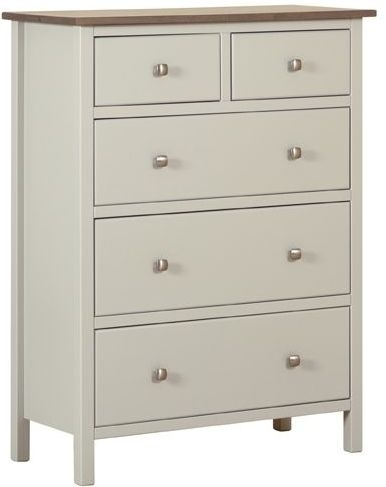 Devonshire Kenwith Painted Chest of Drawer - Large 3+2 Drawer